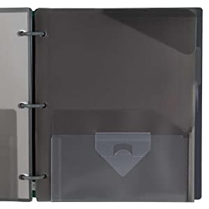 Flex, notebook, binder, 1 in. binder, hybrid notebinder, opaque binder
