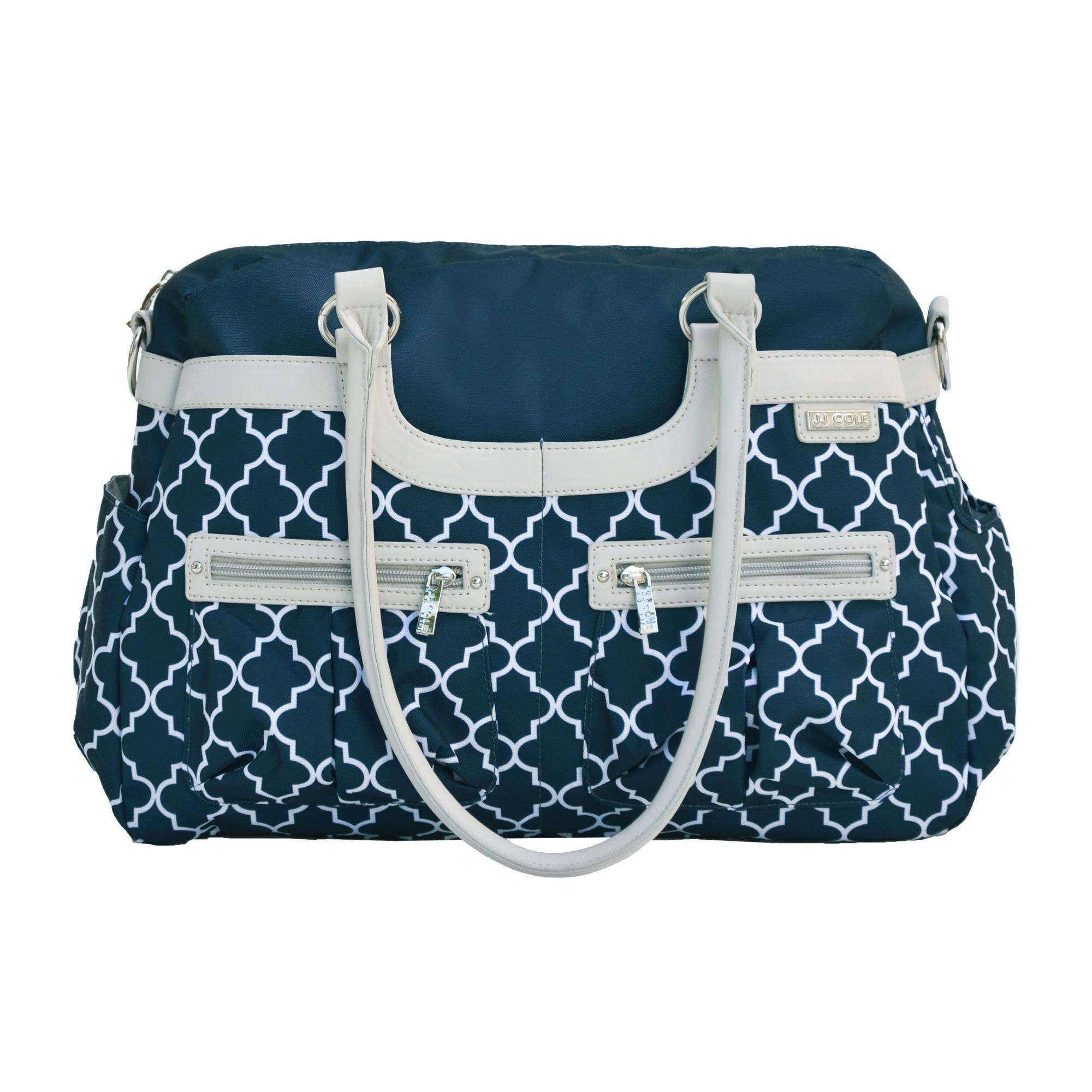 jj cole satchel diaper bag navy arbor baby. Black Bedroom Furniture Sets. Home Design Ideas