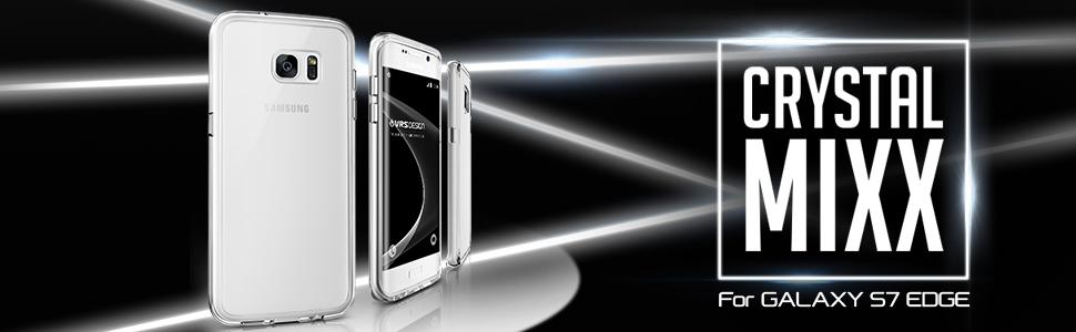 Galaxy S7 Edge Case, VRS Design Crystal Mixx Series