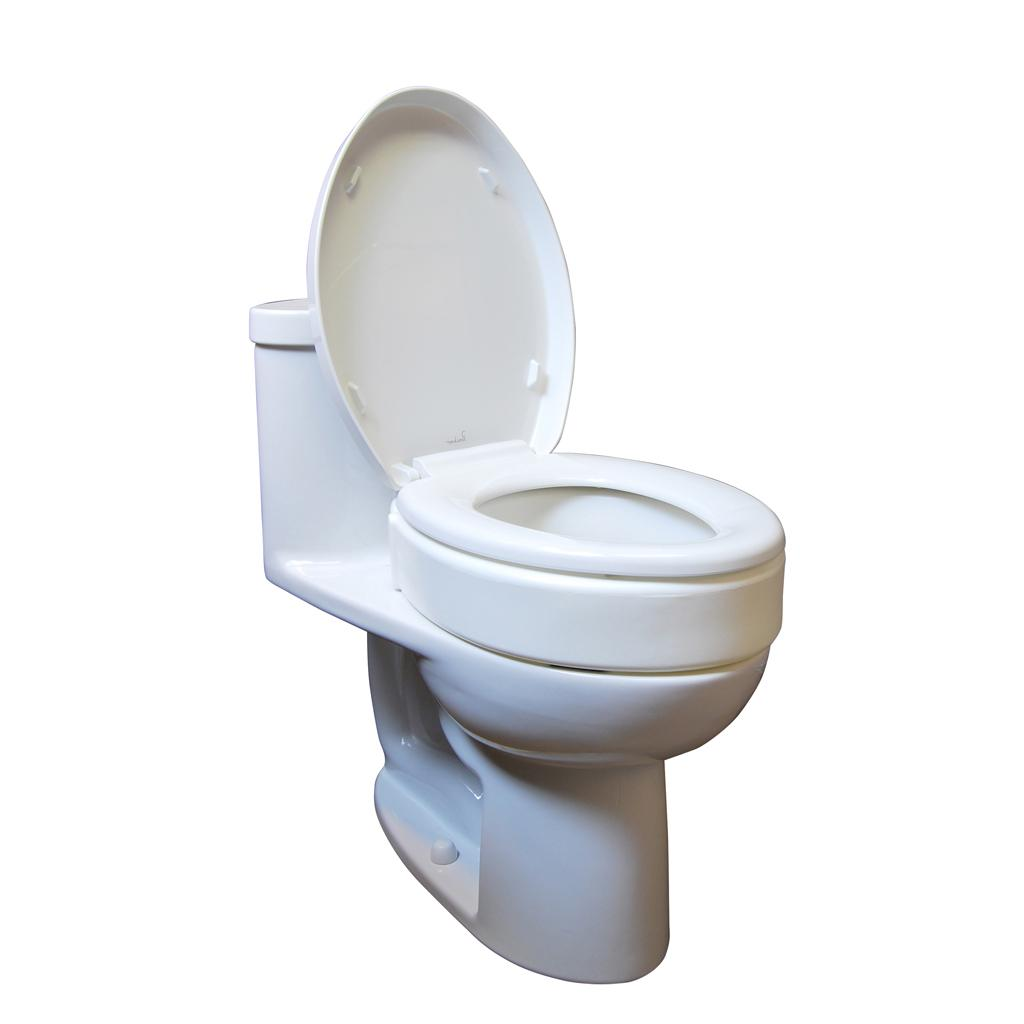 Allows individual to use existing toilet seat and lid for Toilet seat