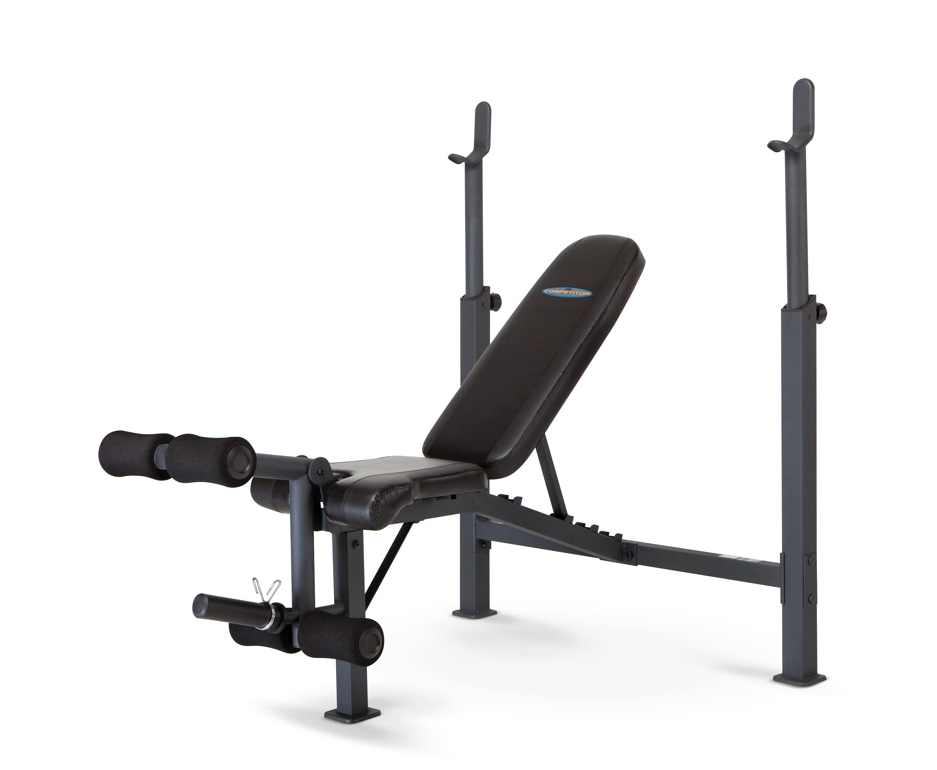 Home Gym Weight Bench Competitor Olympic Size Fitness Exercise Workout Equipment Ebay
