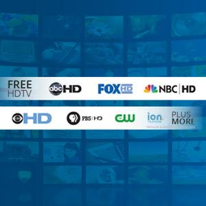 Winegard FREE HDTV VHF UHF Signals