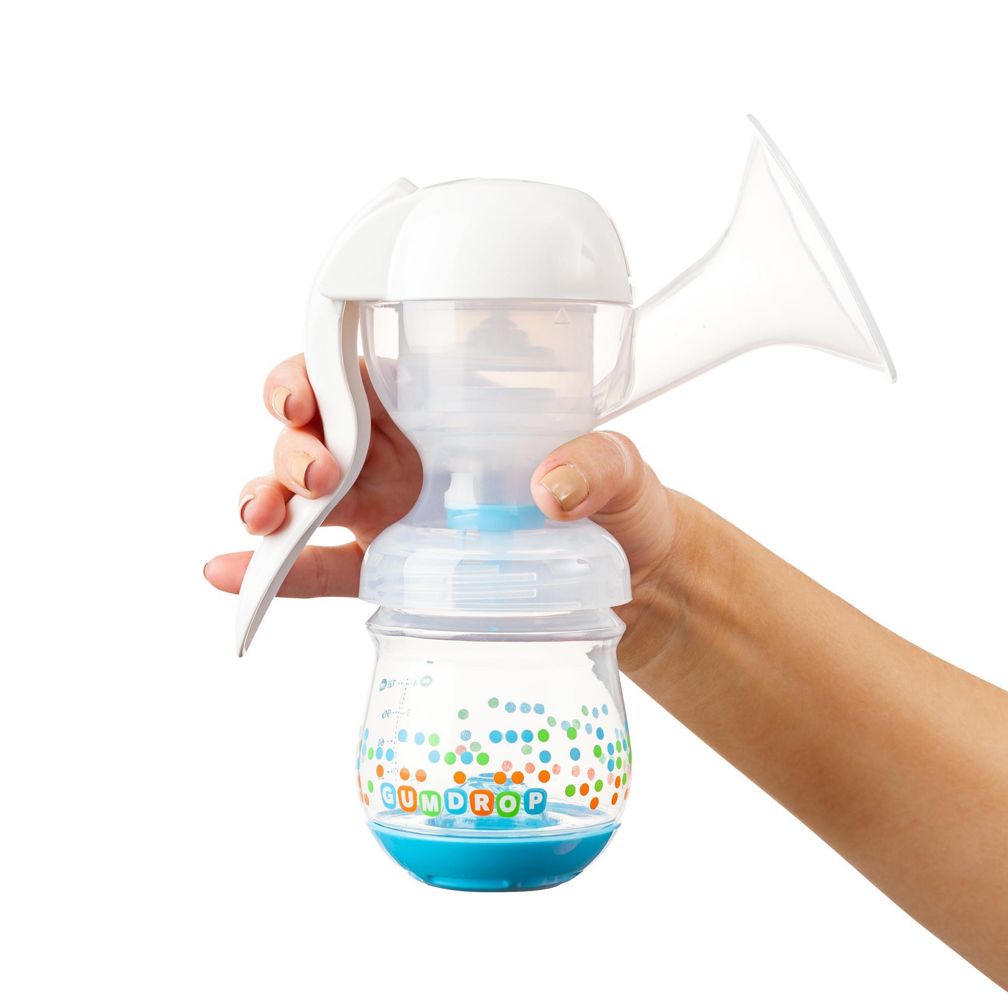 Manual expression breast milk