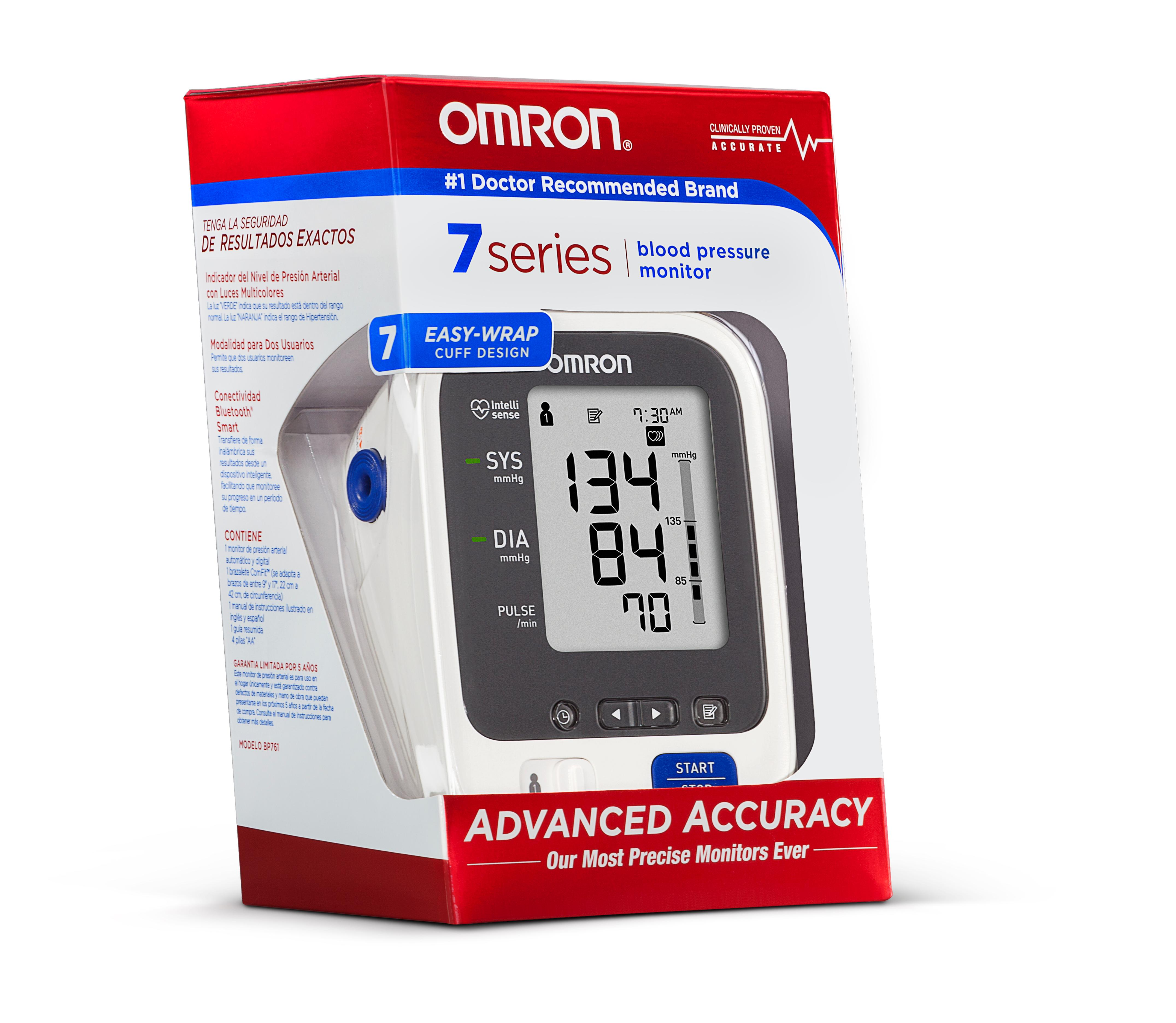 Omron Blood Pressure Monitors Advanced Accuracy Overview Manual Guide