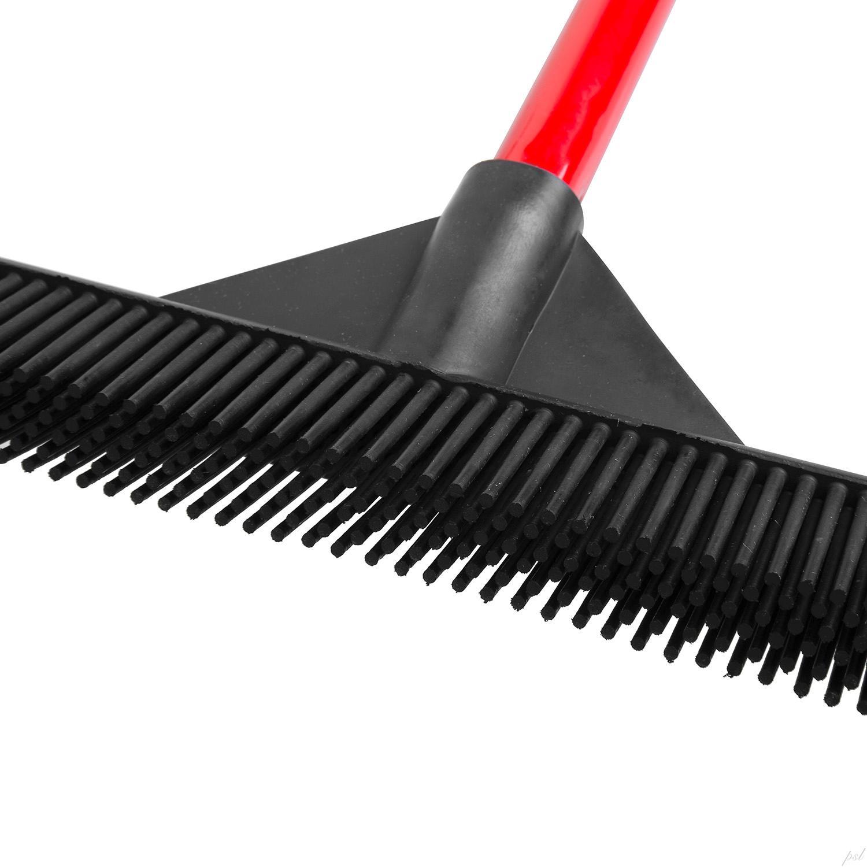 Amazon.com - RAVMAG Rubber Broom LIGHTWEIGHT - Soft Natural Rubber