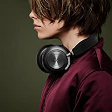 B&O PLAY by Bang & Olufsen BeoPlay H7 Premium wireless over ear over-ear headphones leather aluminum