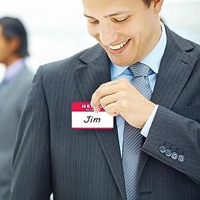 C-Line Peel & Stick Badges