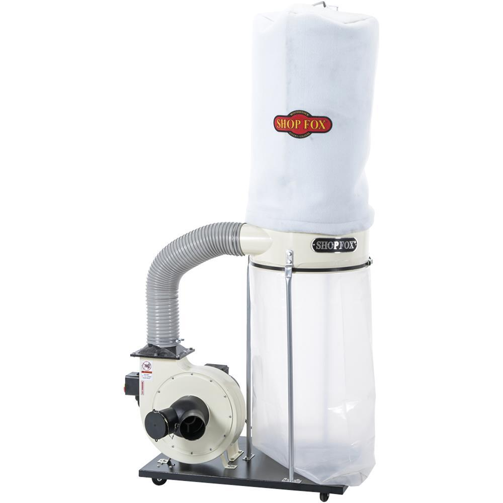 Fox Air Cleaner : Shop fox w hp cfm dust collector grizzly