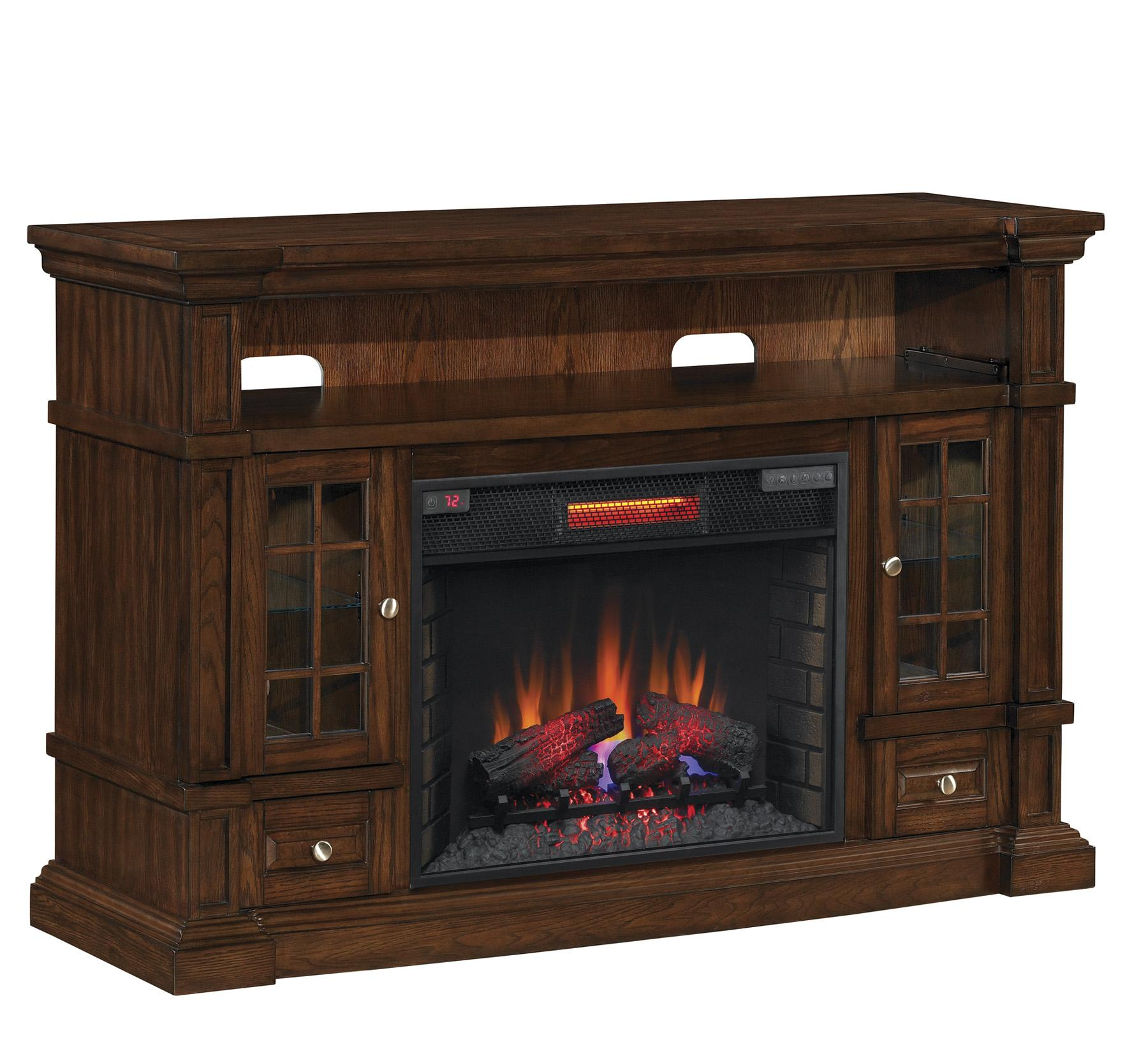 Classicflame 28mm6240 O128 Belmont Tv Stand For Tvs Up To 65 Caramel Oak