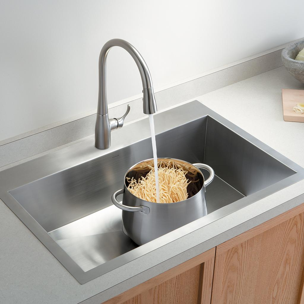 Kitchen on Pinterest Faucets Kitchen Counter