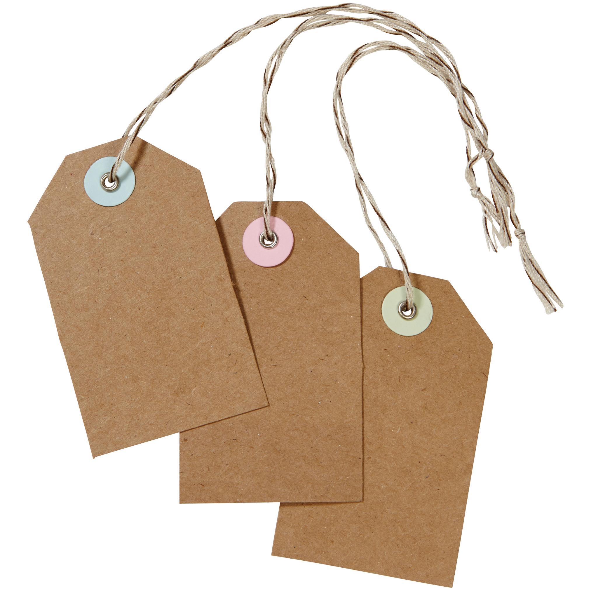 Amazon.com: Martha Stewart Crafts Kraft Tags: Gift Tags ...