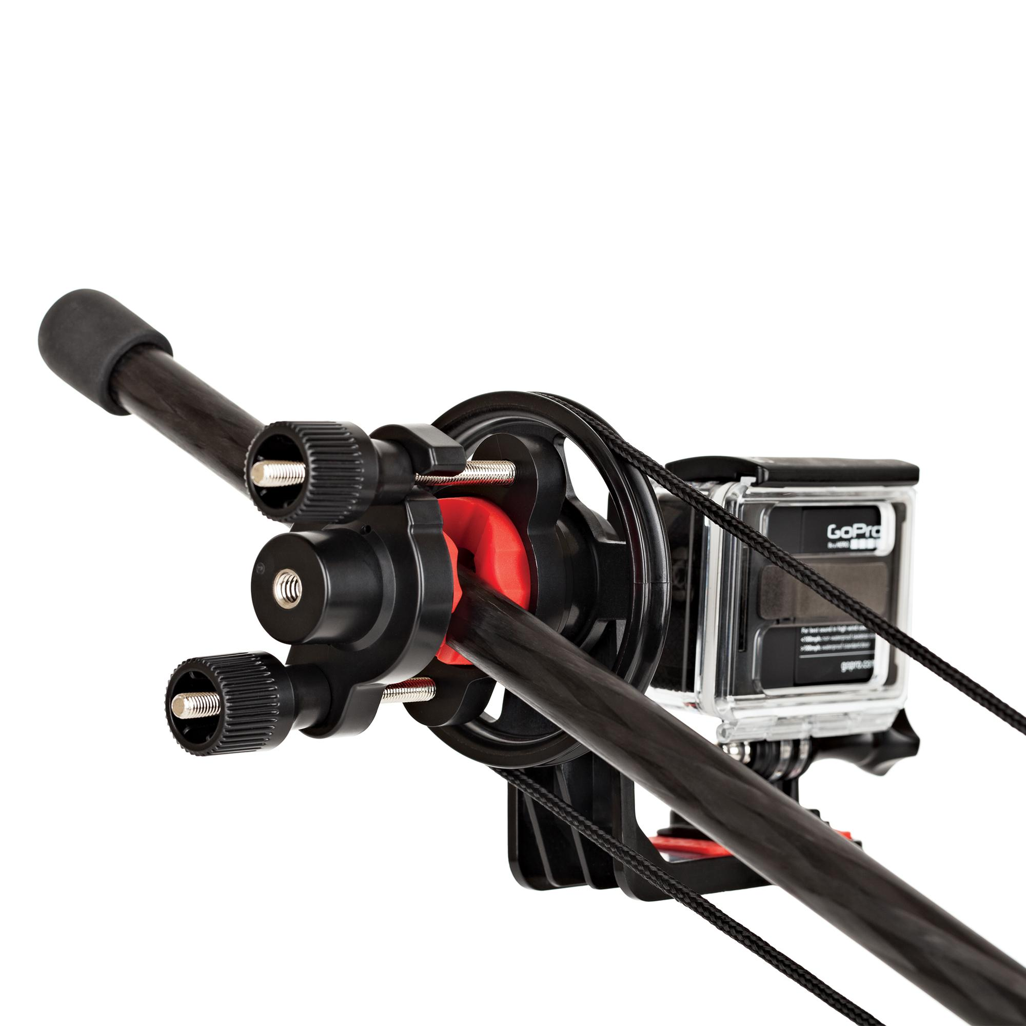 Jib Pole Crane : Joby action jib kit with pole pack capture cinematic crane shots your gopro