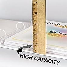 High Capacity Sheet Protectors