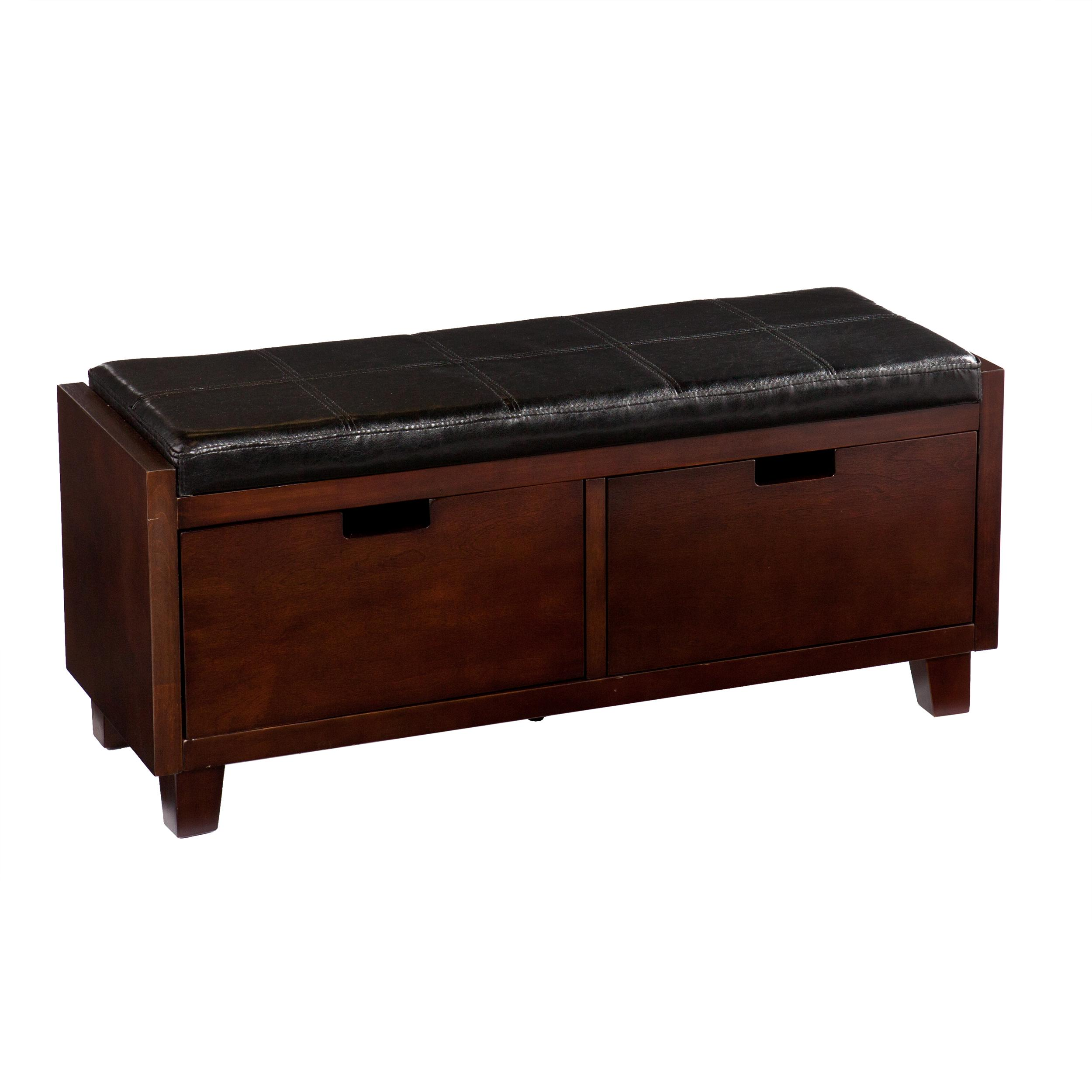 Sei flynn 2 drawer storage bench kitchen dining Storage benches