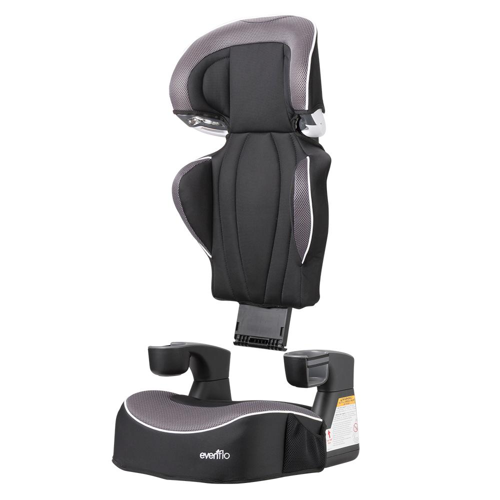 evenflo big kid lx high back booster car seat. Black Bedroom Furniture Sets. Home Design Ideas