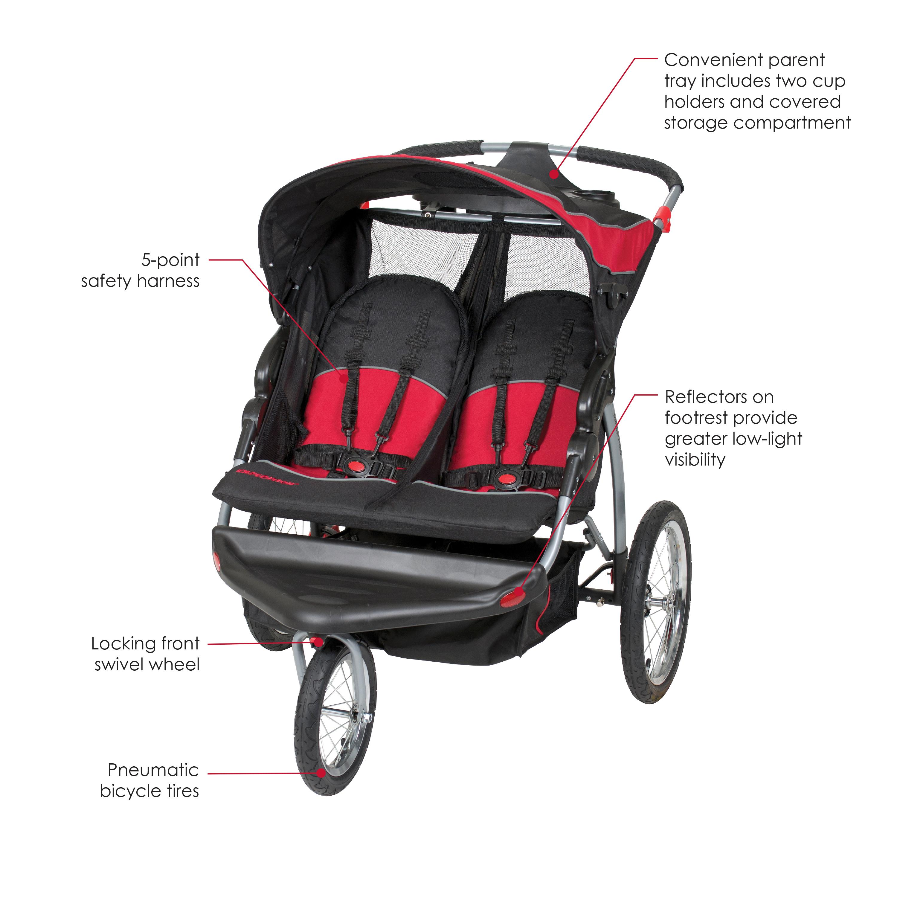Amazon Baby Trend Sit N Stand Double Stroller …