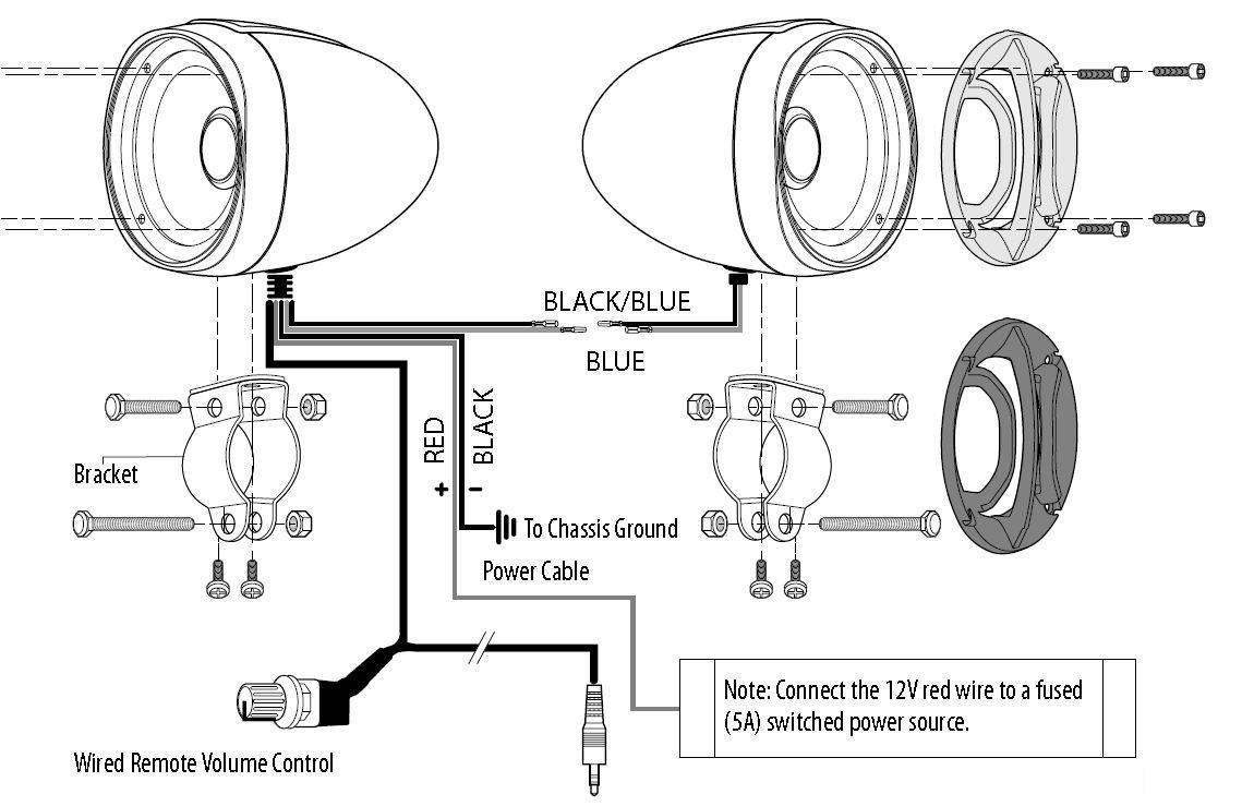 Boss Audio Wiring Diagram - Roslonek.net