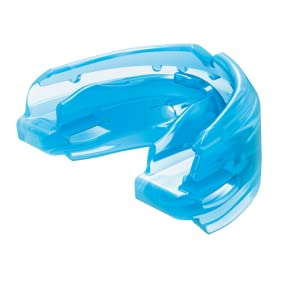 shock doctor double braces mouthguard, braces mouthguard for top and bottom teeth