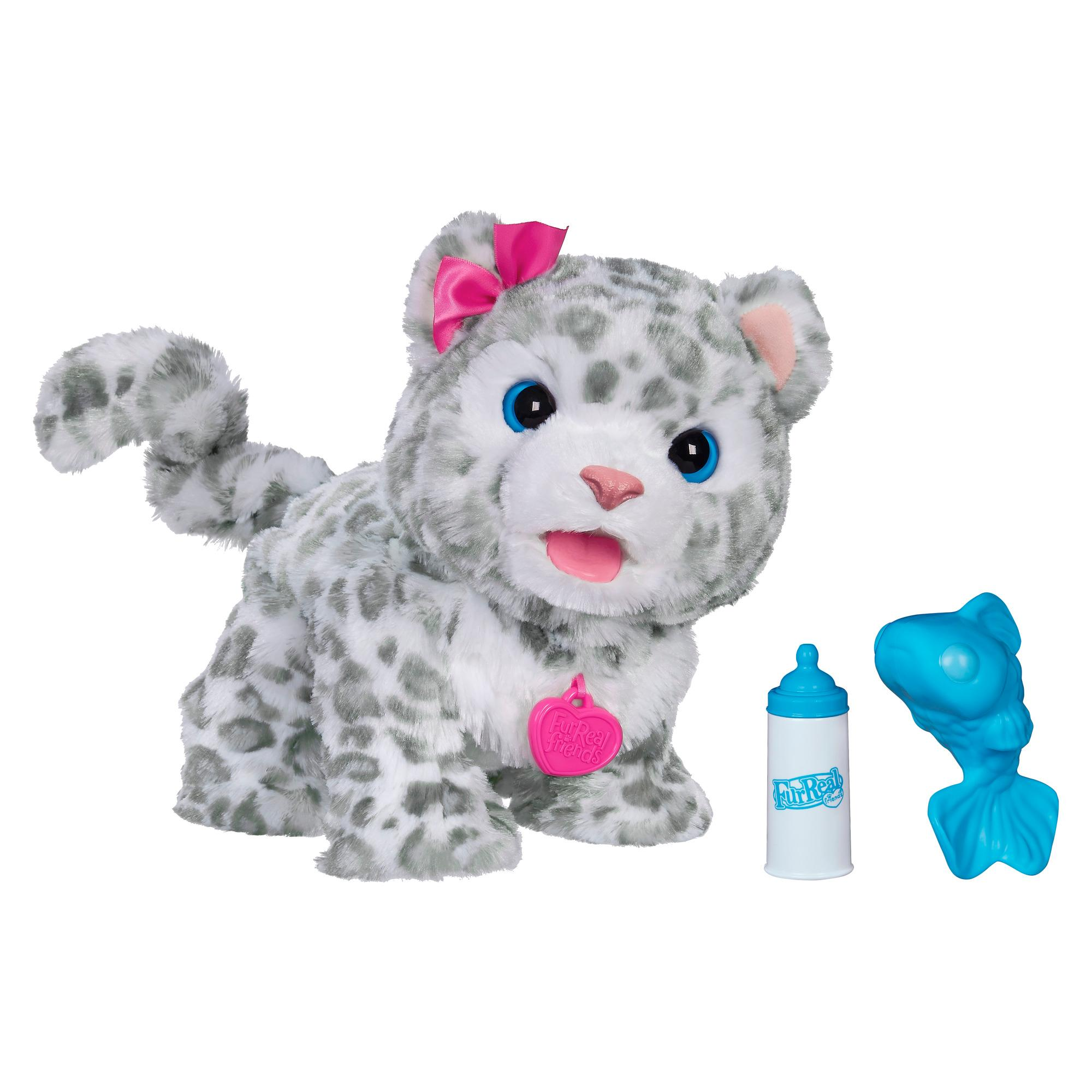 Furreal friends flurry my baby snow leopard for Amazon com pillow pets