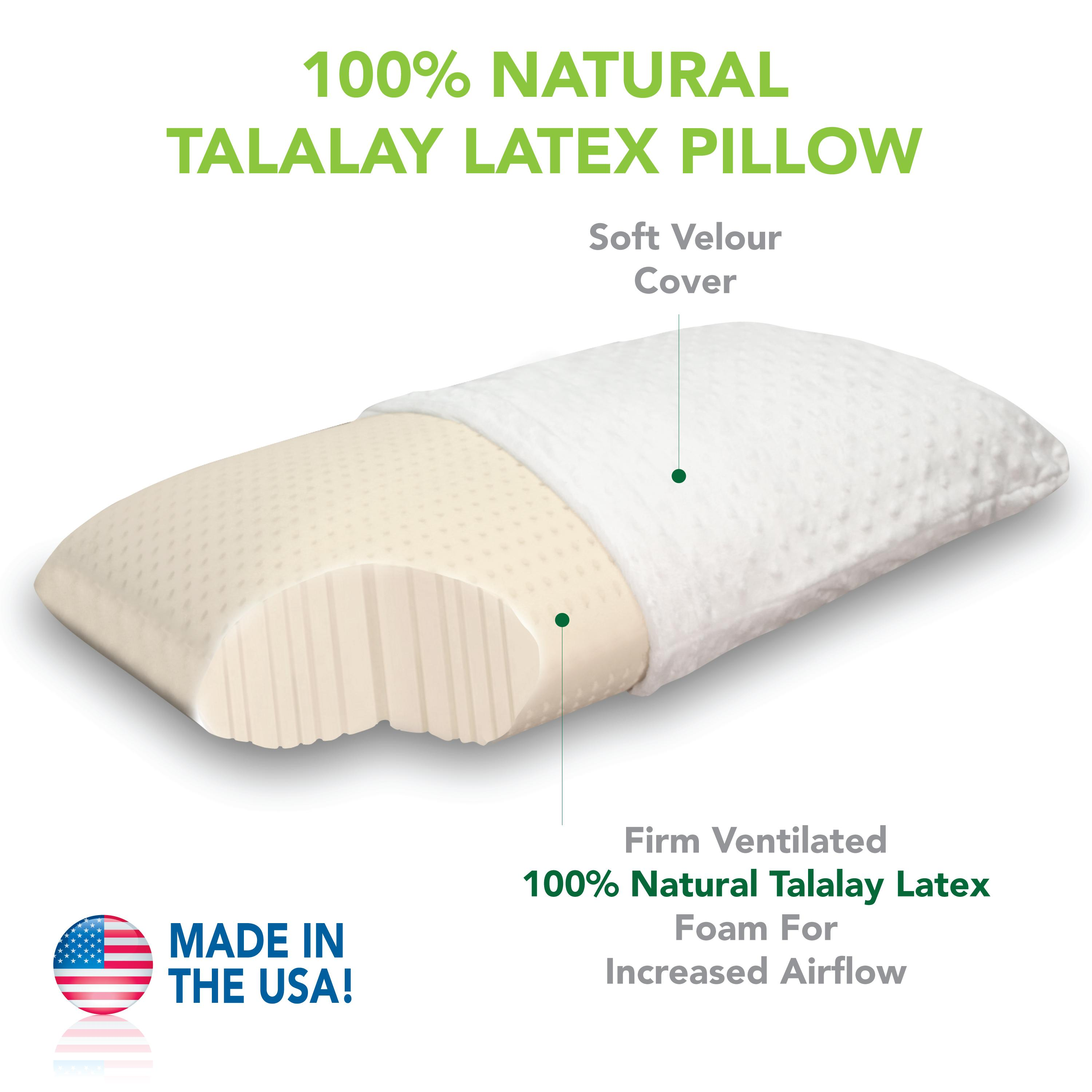 latex pillows talalay firm