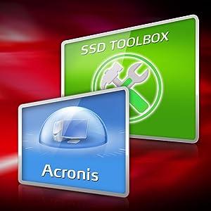 SSD مربع أداة أكرونيس