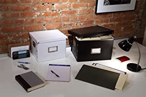 Multiple Size and Color File Boxes