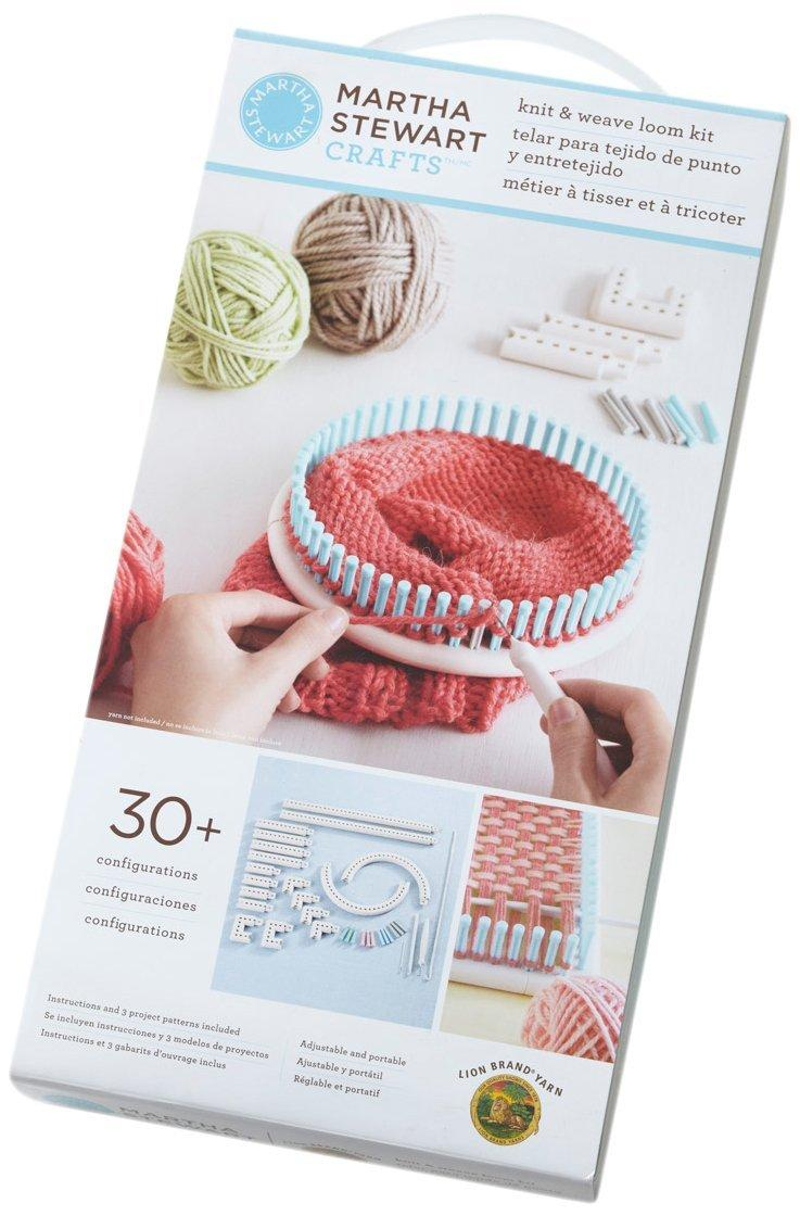 Knitting Loom Kit : Amazon lion brand yarn martha stewart crafts knit and