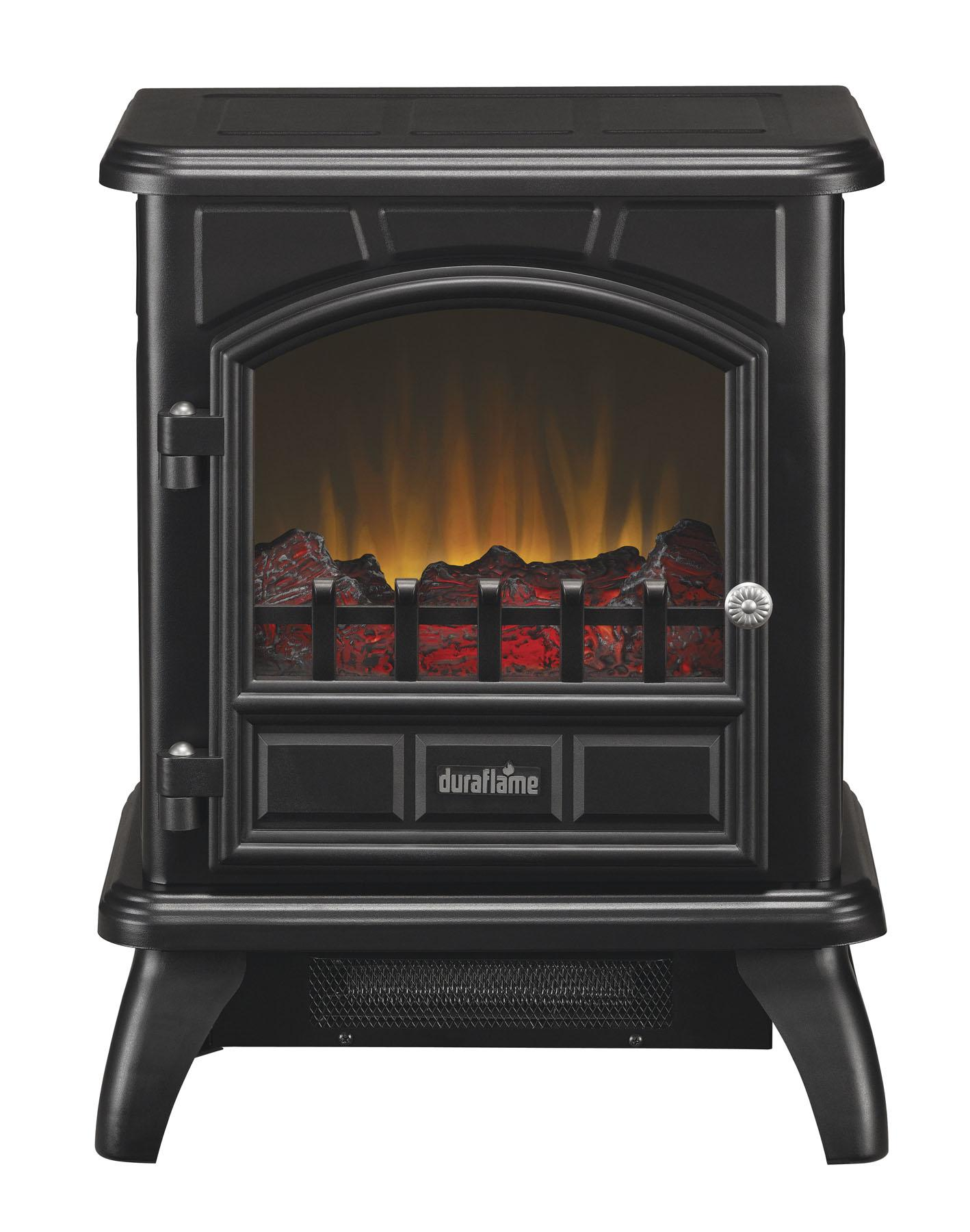 Duraflame Electric Stove In Black Dfs 500 0 Space Heaters