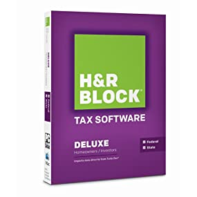 Block Tax Software Deluxe State