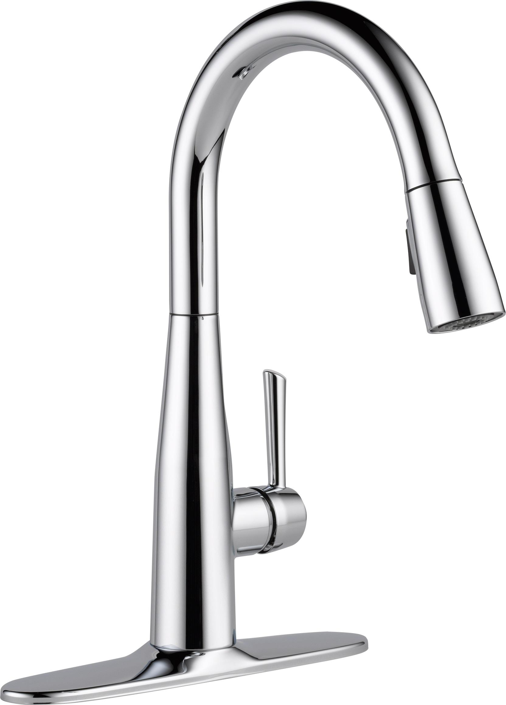 Delta Faucet 9113-AR-DST Essa Single Handle Pull-Down