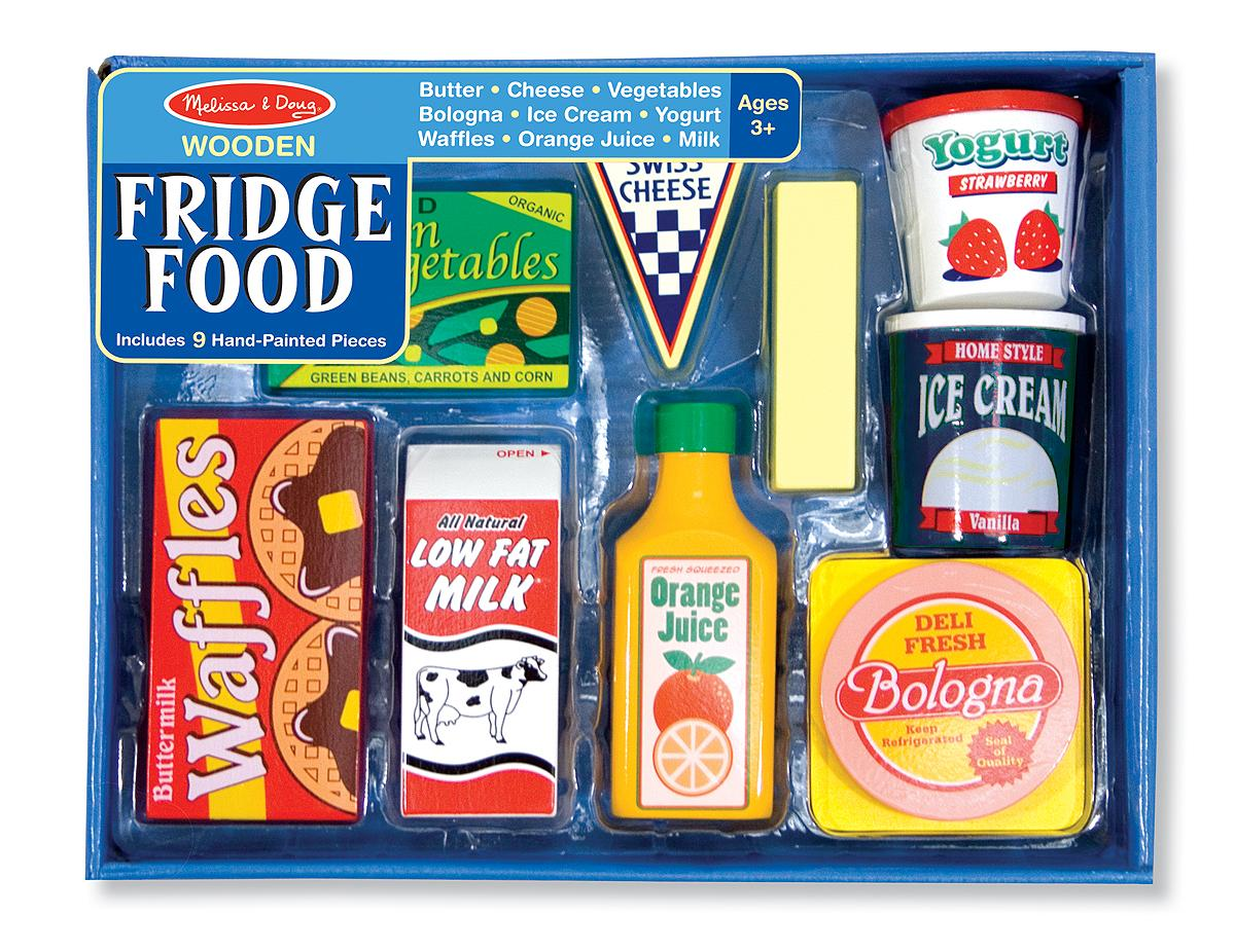 Melissa Doug Fridge Food Set Melissa Doug Toys Games