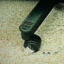 Carpet Damage without Mat