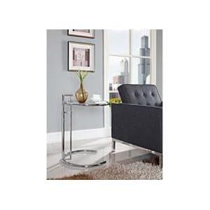 eileen grey, Bauhaus, side table, classic, modern, glass