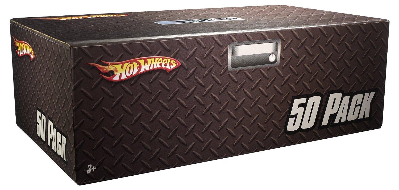50 pack hot wheels car box toy die cast cars set kids xmas gift vehicle bundle n ebay. Black Bedroom Furniture Sets. Home Design Ideas