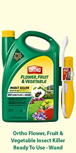 Ortho Flower Fruit And Vegetable Insect Killer 32 Ounce Garden Insecticide