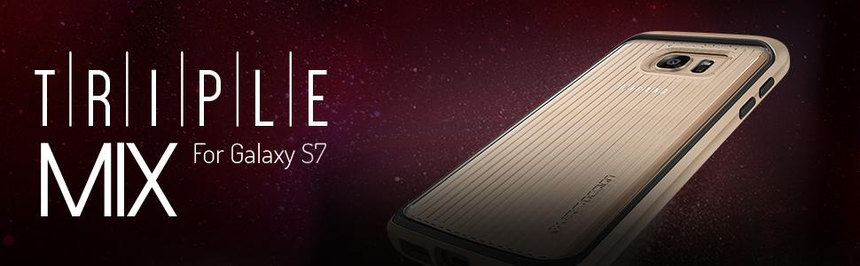 Galaxy S7 Case, VRS Design Triple Mixx Series