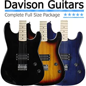electric guitar with amp pack sale