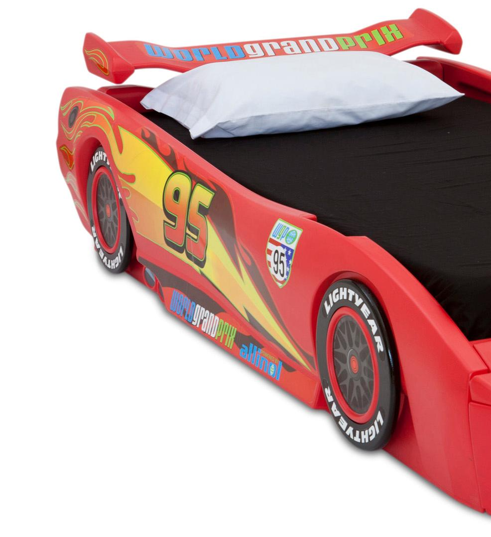 Full Size Lightning Mcqueen Car Bed
