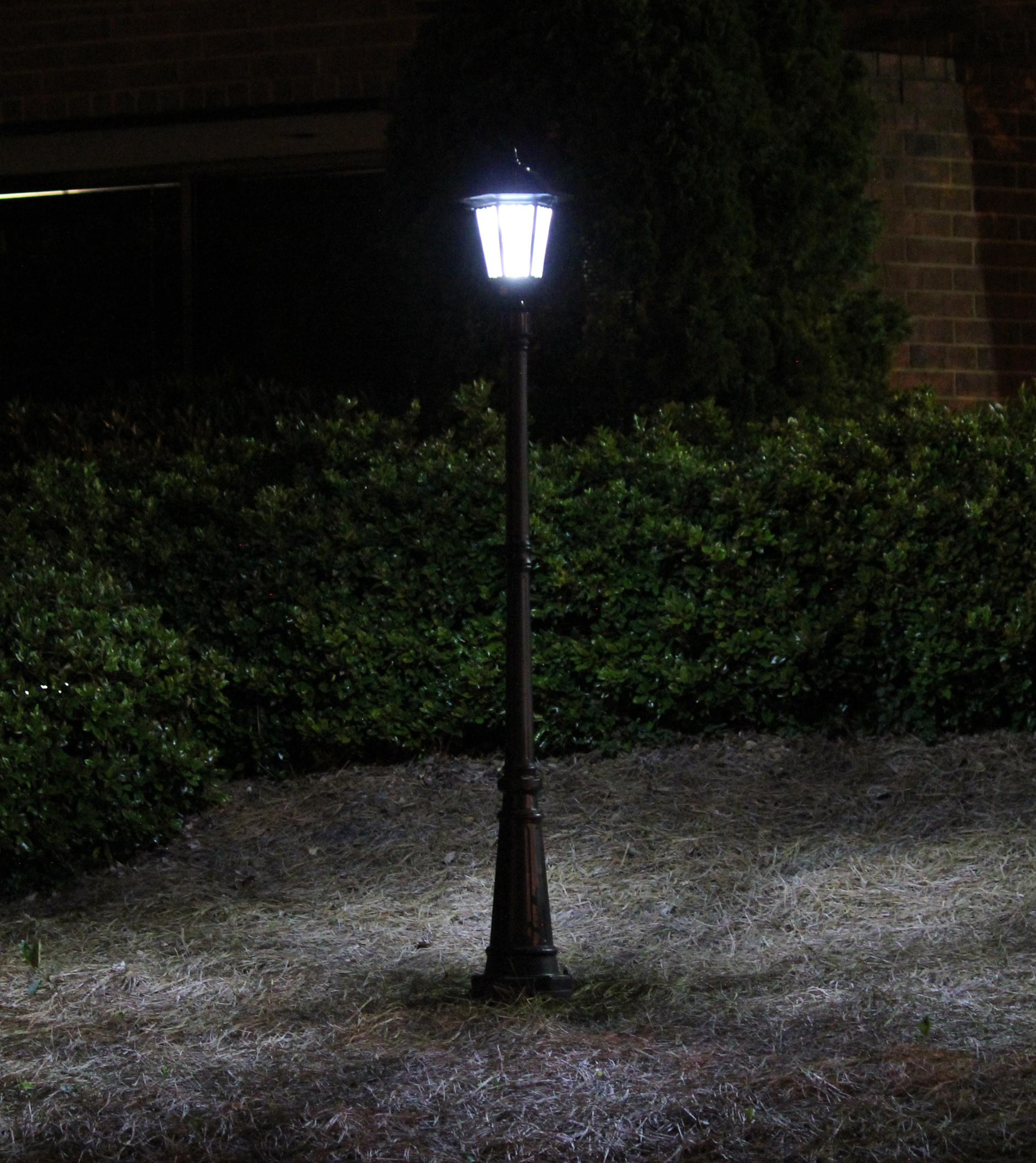 Amazon Com Gama Sonic Windsor Solar Outdoor Post Light
