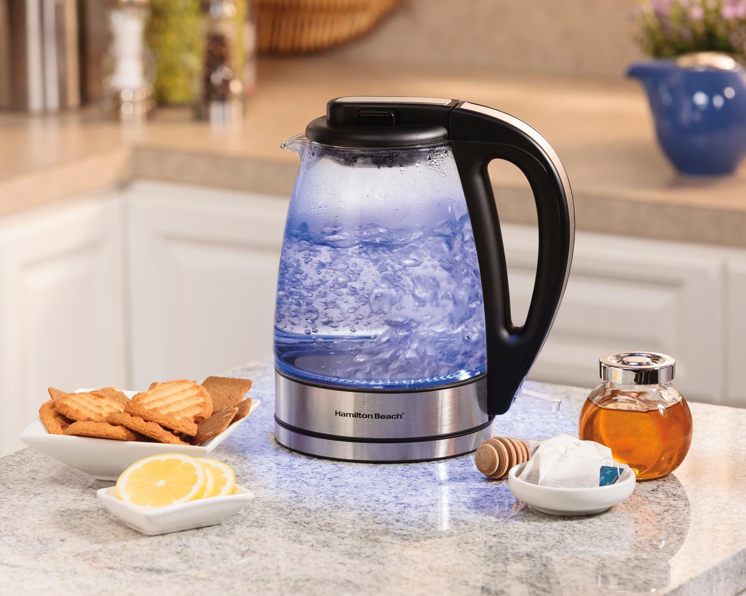 Top Rated Electric Water Kettle ~ Amazon hamilton beach glass electric kettle