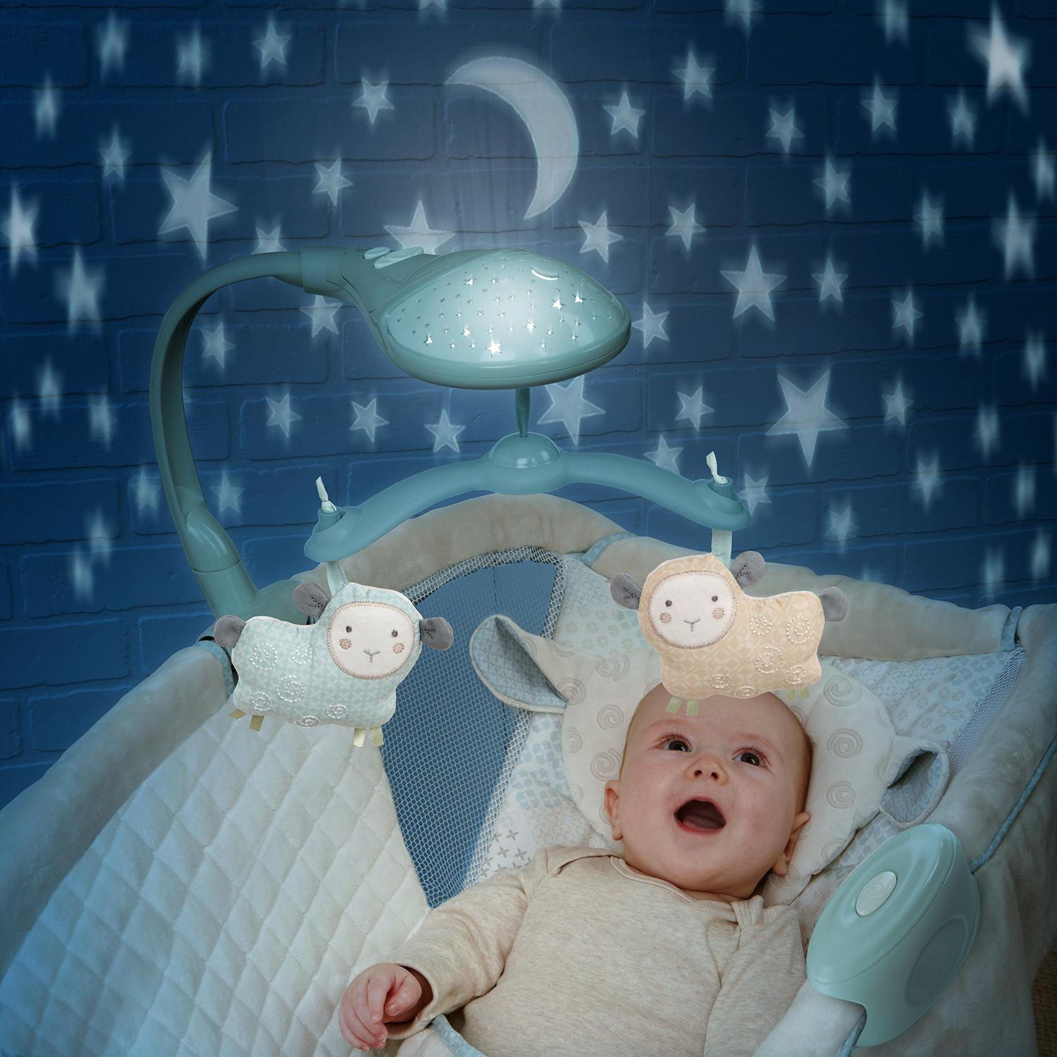 Amazon Com Ingenuity Moonlight Rocking Sleeper Lullaby