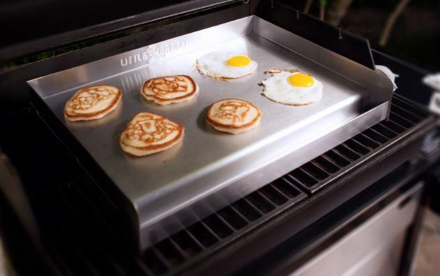 flat cooking grill