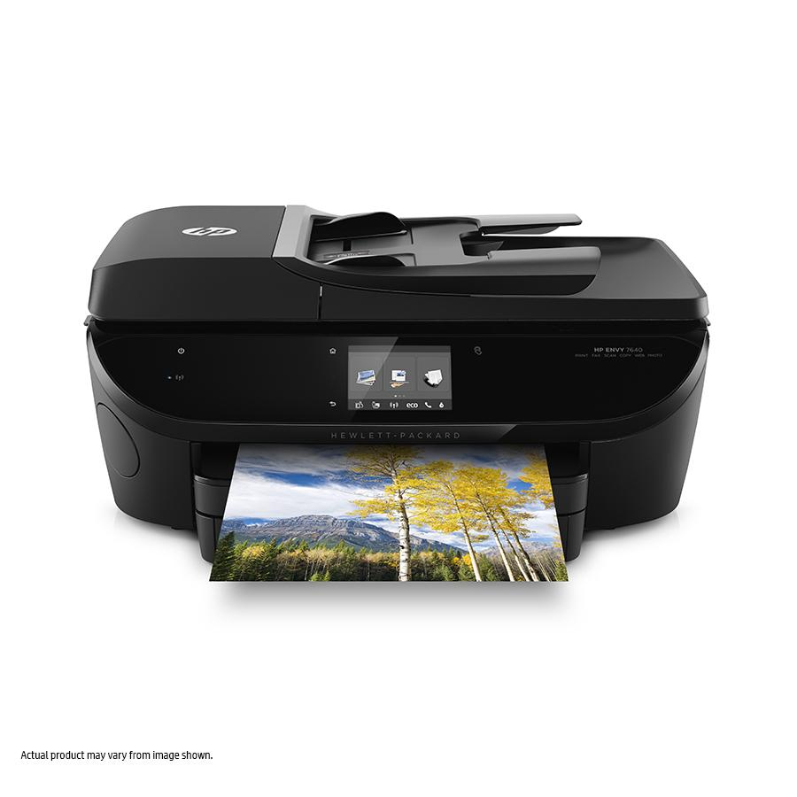hp envy 7640 wireless all in one color photo printer e4w43a b1h electronics. Black Bedroom Furniture Sets. Home Design Ideas