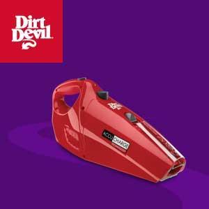 accucharge, dirt devil, handheld, vacuum