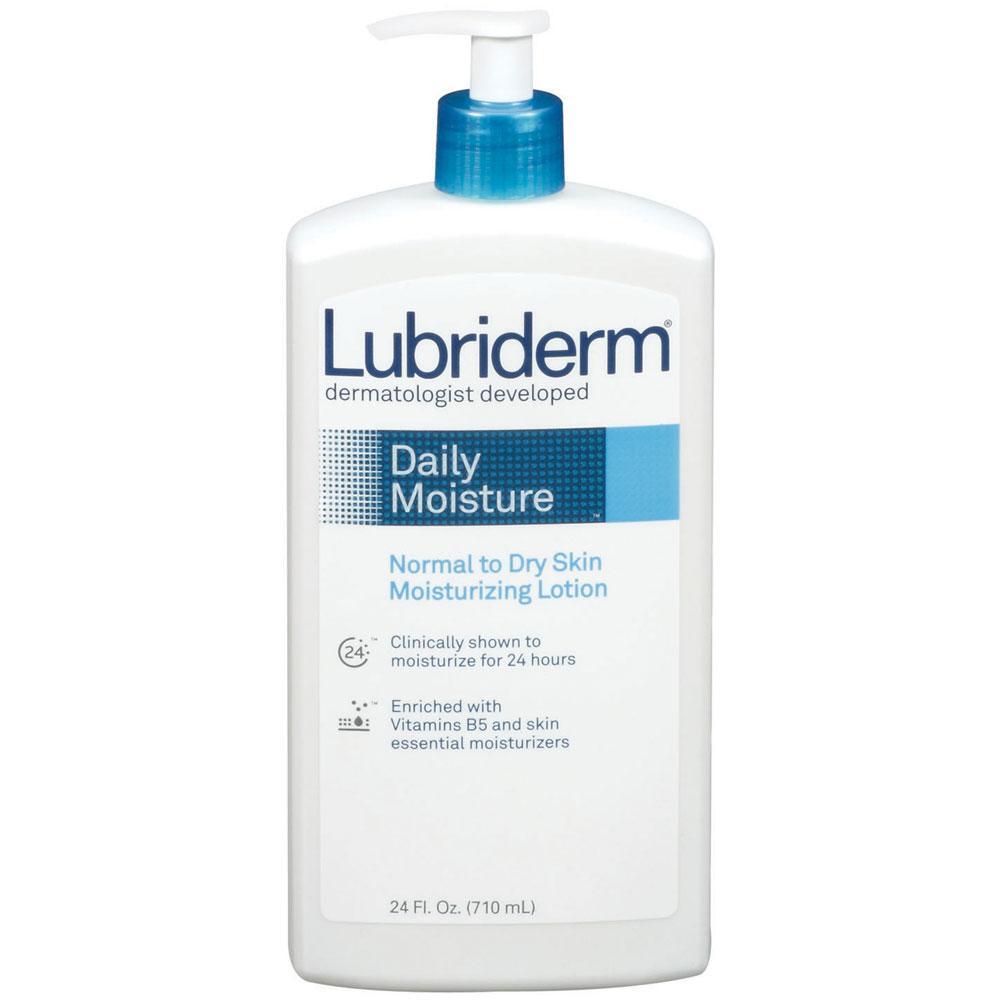 Amazon Com Lubriderm Daily Moisture Lotion 24 Ounce
