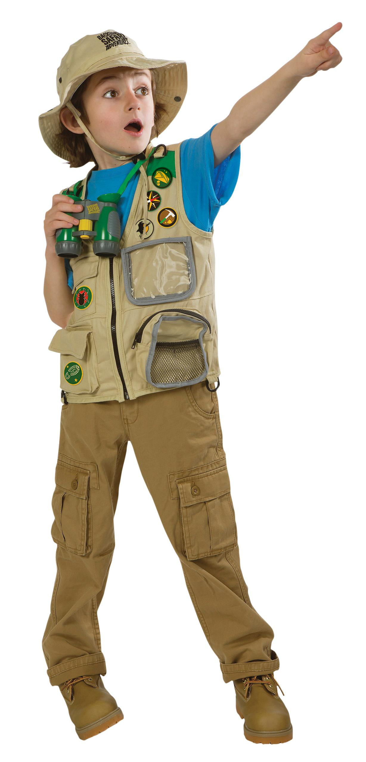 Amazon.com: Backyard Safari Cargo Vest: Toys & Games