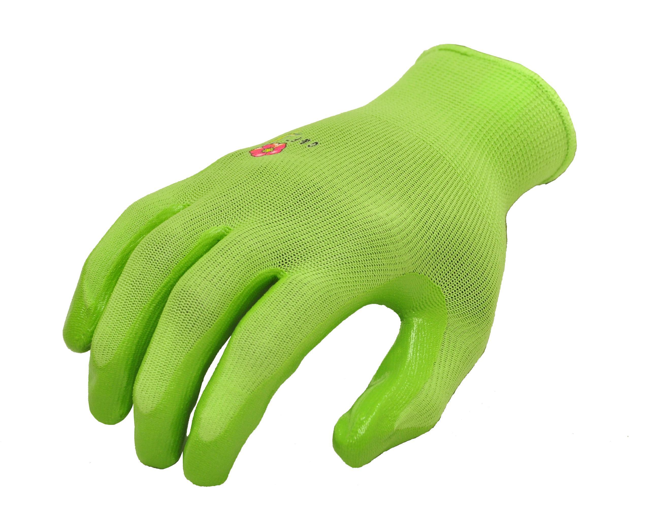Womens Garden Gloves 6 Pair Pack assorted colors Women