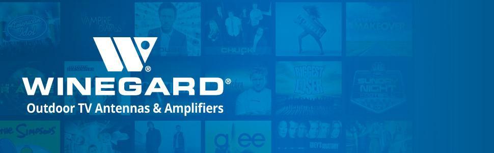 Winegard Outdoor TV Antennas & Amplifiers FREE HDTV