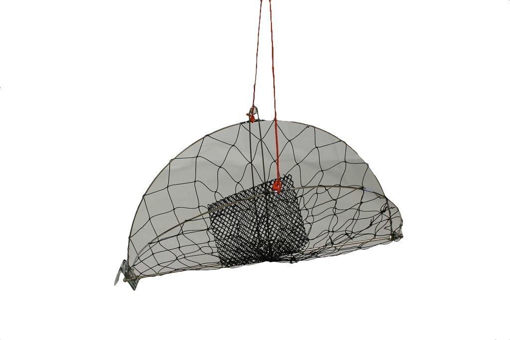 Kufa casting crab trap with 100 39 rope cr55 for Fishing pole crab trap