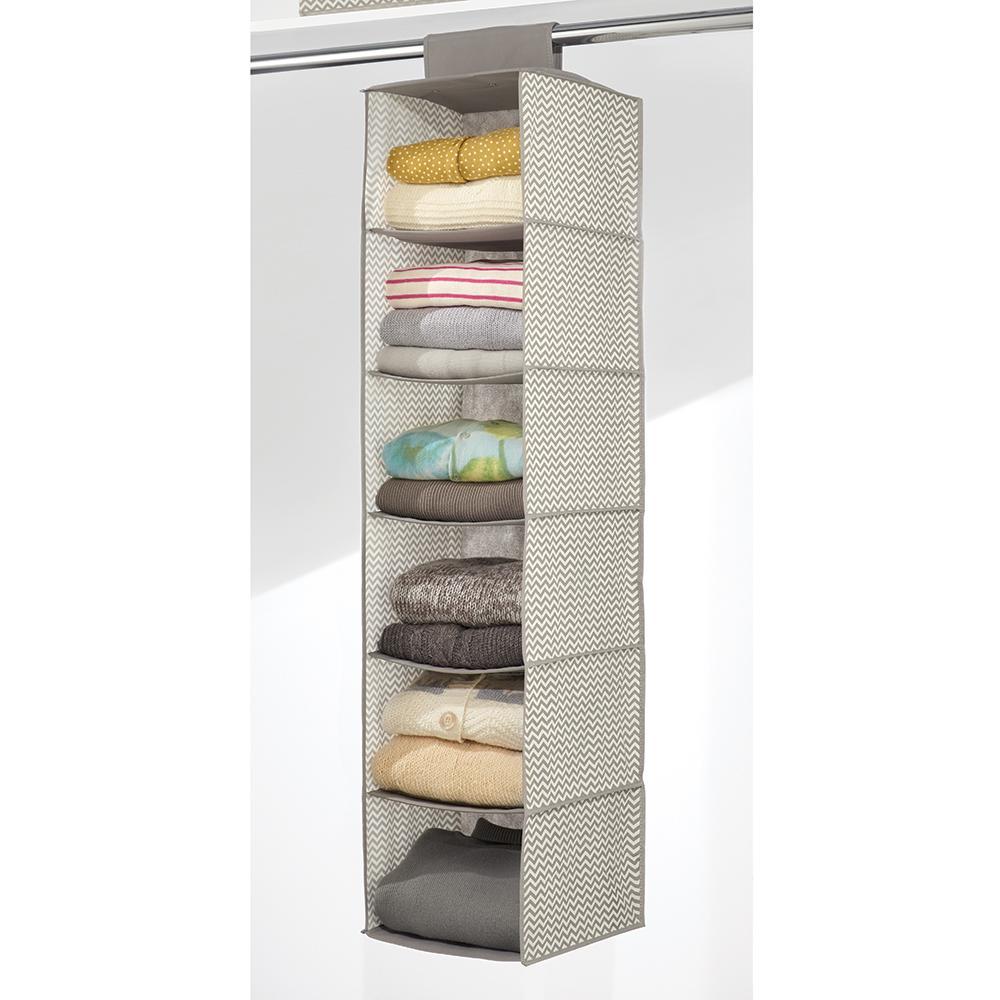 Interdesign Chevron Fabric Storage Hanging